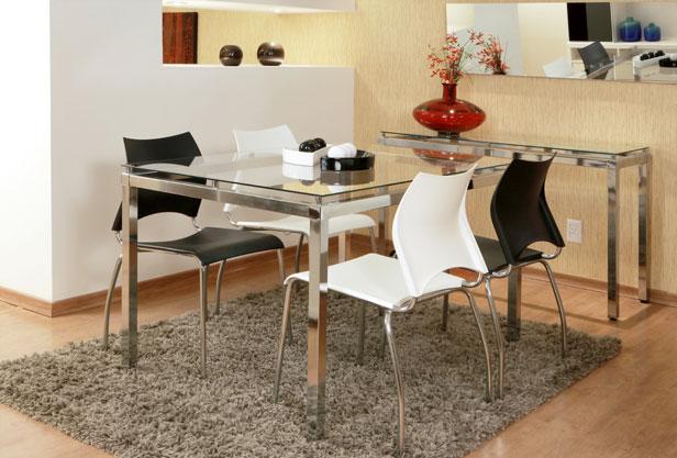 Sala de Jantar, 4 Cadeiras, Gaudi