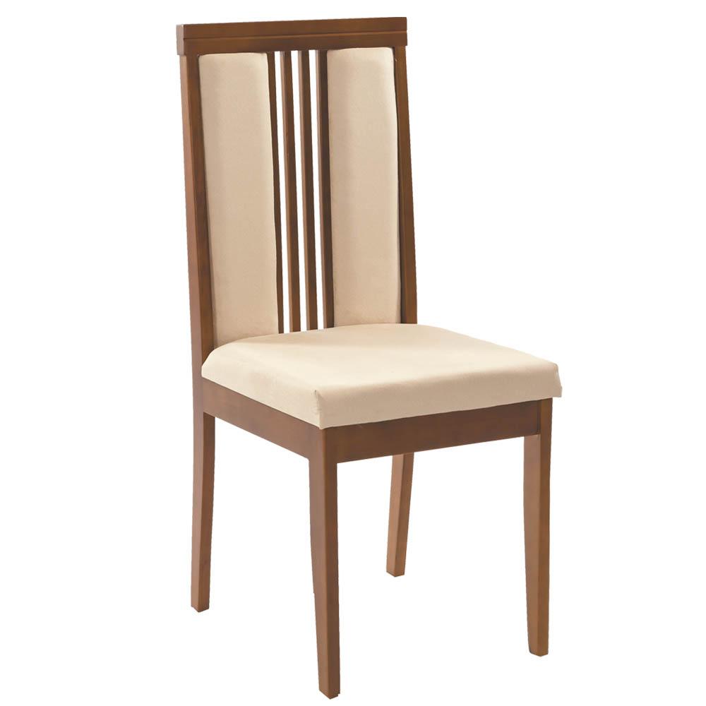 Cadeira Bonnie Sala de Jantar, Padrao - Imbuia, Revestimento - S - 300 cor 1