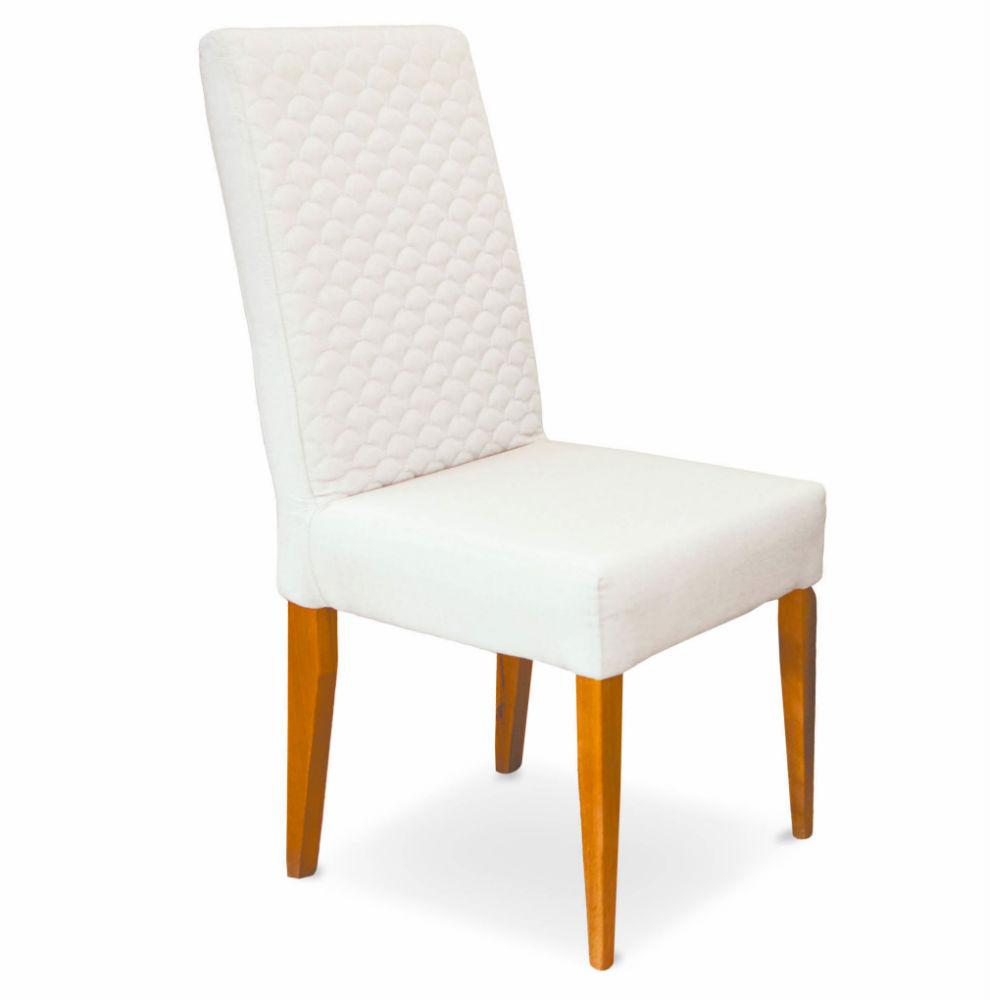 Cadeira de Jantar, Amêndoa, Linho Palha, Cléo