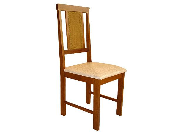 Cadeira de Jantar, Madeira Maciça, Imbuia com Bege, Lina